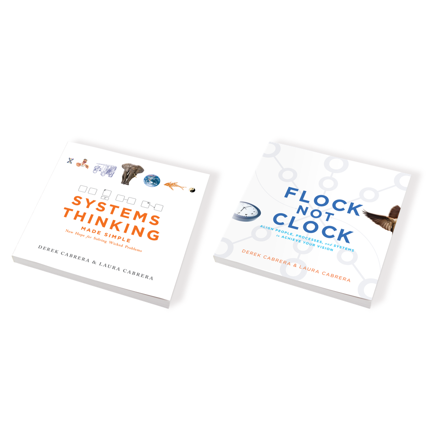Our publications: Systems Thinking Made Simple and Flock Not Clock