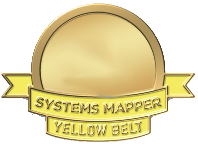 Systems mapping certification yellow belt
