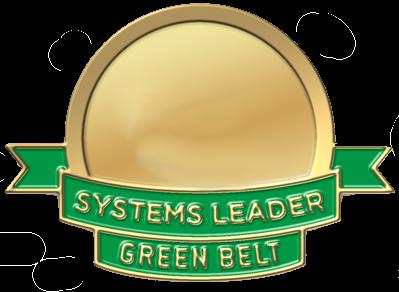 Systems leader certification green belt