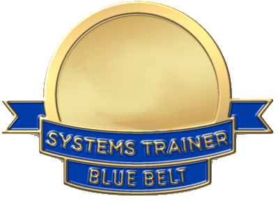 Systems trainer certification blue belt